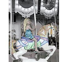 The Carousel Ride Photographic Print