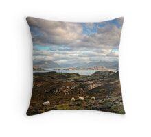 Loch Torridon - Scotland Throw Pillow