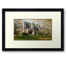 The Castle at Maryvale Framed Print
