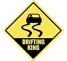 Drifting king Photographic Print