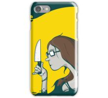 The world vs the sharp knife of Sophie (Sophie's World) iPhone Case/Skin