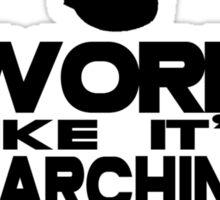 Marching Season Sticker