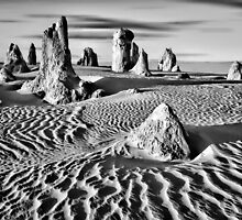 Pinnacles Desert, Western Australia by Mark Boyle