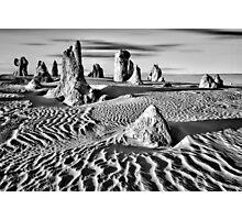 Pinnacles Desert, Western Australia Photographic Print