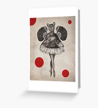 Anthropomorphic N°2 Greeting Card