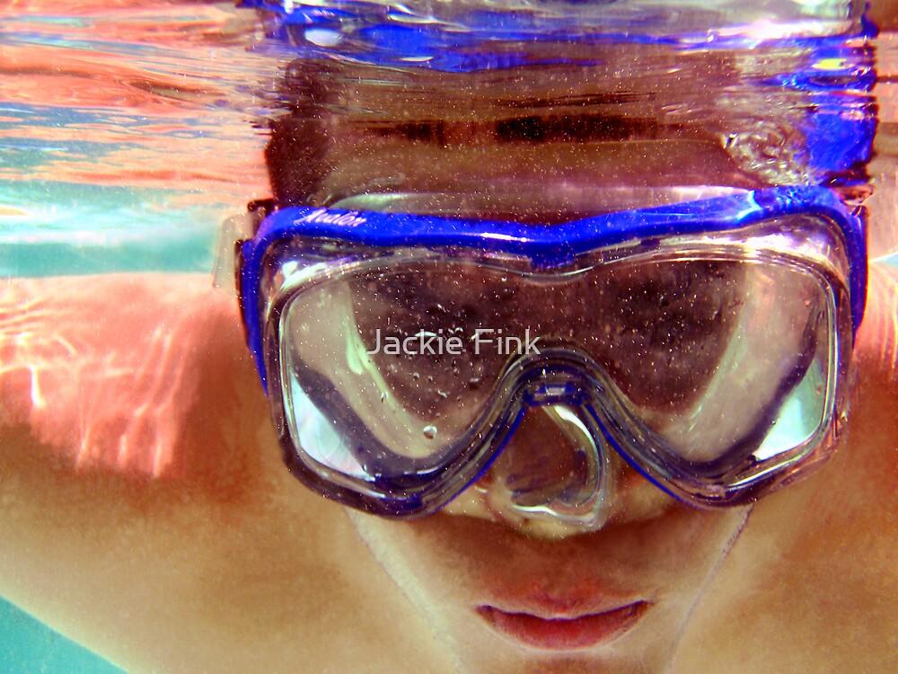 Underwater  Fun by Jackie Fink