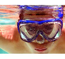 Underwater  Fun Photographic Print
