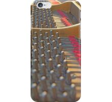 Piano Pegs iPhone Case/Skin