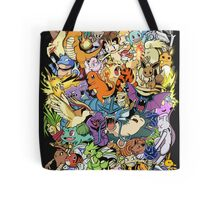Gen I - Pokemaniacal Colour Tote Bag