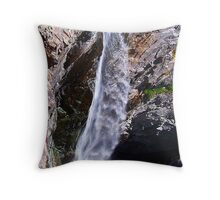 Bear creek water falls Throw Pillow