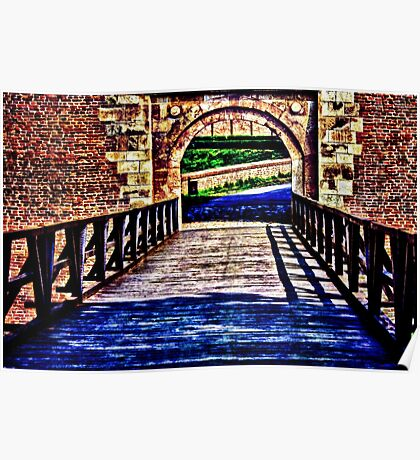 Kalemegdan Fortress Gate Belgrade Fine Art Print Poster