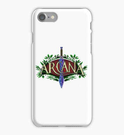 Arcana - SNES Title Screen iPhone Case/Skin
