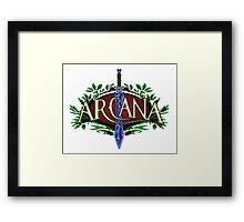 Arcana Framed Print