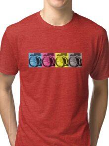 CMYK Camera T-Shirt Tri-blend T-Shirt