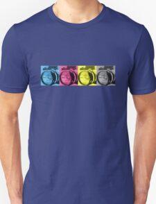 CMYK Camera T-Shirt Unisex T-Shirt