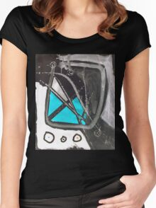 life support Women's Fitted Scoop T-Shirt