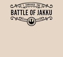 I Survived the Battle of Jakku (black text) Unisex T-Shirt