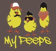 My Peeps, Baby Chicks T-Shirt Baby Tee