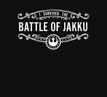I Survived the Battle of Jakku (white text) Unisex T-Shirt
