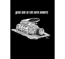 Mad Max Supercharger  Photographic Print