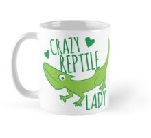 Crazy Lizard reptile Lady 2 Mug