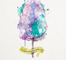 Cottoncandy galaxy by Paola Vecchi