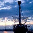 """Curonian sail """"KOGAS"""" by Antanas"""