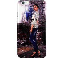 Fashion Model in Jeans Fine Art Print iPhone Case/Skin