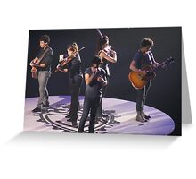 Jonas Brothers Greeting Card