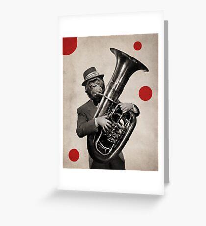 Anthropomorphic N°3 Greeting Card