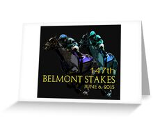 147th Belmont Stakes 2015 Greeting Card
