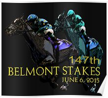 147th Belmont Stakes 2015 Poster