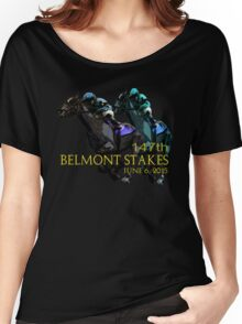 147th Belmont Stakes 2015 Women's Relaxed Fit T-Shirt
