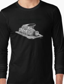 Mad Max Interceptor Supercharger Long Sleeve T-Shirt