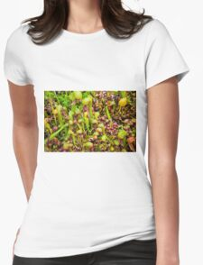 Cobra liliy pitcher plants Womens Fitted T-Shirt