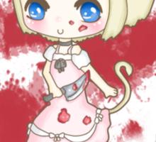 Evil Neko Lolita Sticker