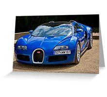 Bugatti Veyron 16.4 Greeting Card