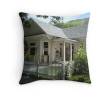 Aunt Addy's Country Home Throw Pillow