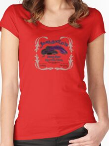 Jarlaxle's Pawn Shop Women's Fitted Scoop T-Shirt