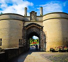 Nottingham castle by Jaime Pharr
