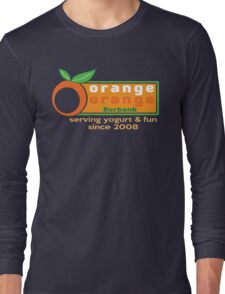 Serving Yogurt & Fun Long Sleeve T-Shirt