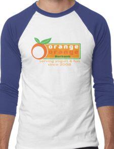 Serving Yogurt & Fun Men's Baseball ¾ T-Shirt