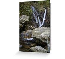 Cabin Creek Falls Greeting Card