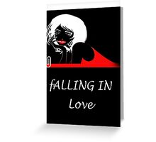 Falling in love/ Product Design Greeting Card