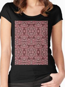 Rope Patterns 4 Women's Fitted Scoop T-Shirt