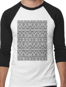 Rope Patterns 5 Men's Baseball ¾ T-Shirt