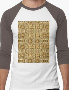 Rope Patterns 7 Men's Baseball ¾ T-Shirt