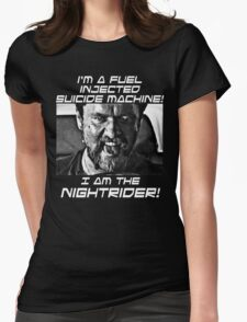 Nightrider Womens Fitted T-Shirt