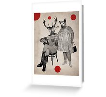 Anthropomorphic N°4 Greeting Card