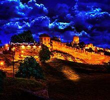 Mystical Fortress Kalemegdan Belgrade by stockfineart